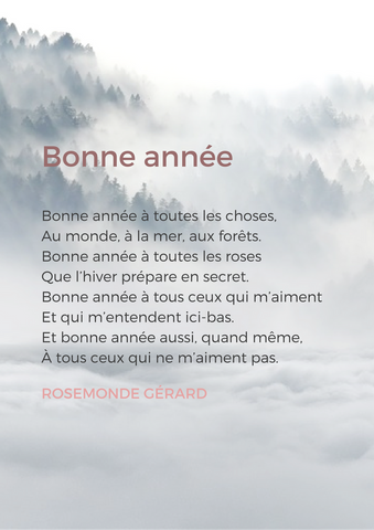 french poems on winter