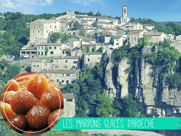 marrons glaces ardeche french candies france selfrench