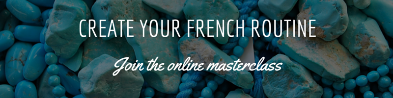 create your french routine selfrench course