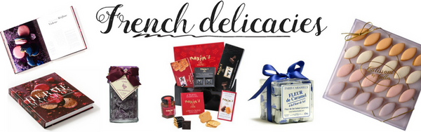 french delicacies tasty chocolate and candies gift