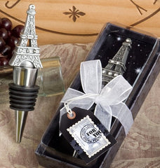 bottle stopper eiffel tower french gift