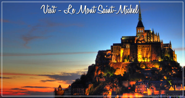 Mont Saint Michel France Selfrench