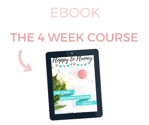 The 4 Week Course