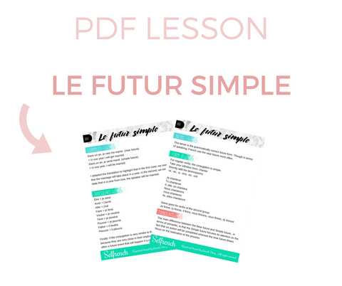 Lesson Le Futur Simple