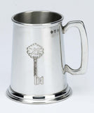 21st Birthday 1 Pint Pewter Tankard - Bracknell Engraving & Trophy Services