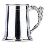 Thistle Handle Pewter Tankard - Bracknell Engraving & Trophy Services