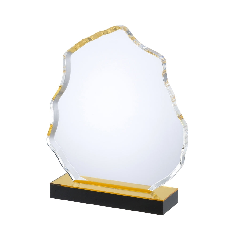 Acrylic Award Yellow Effect