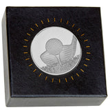 Frosted Glacier Club Medal in Case and Box - Bracknell Engraving & Trophy Services