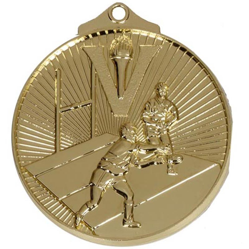 AM209 Rugby Medal - Bracknell Engraving & Trophy Services