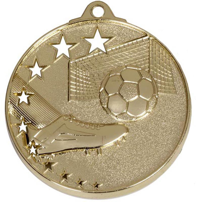 AM502 Football Medals - Bracknell Engraving & Trophy Services