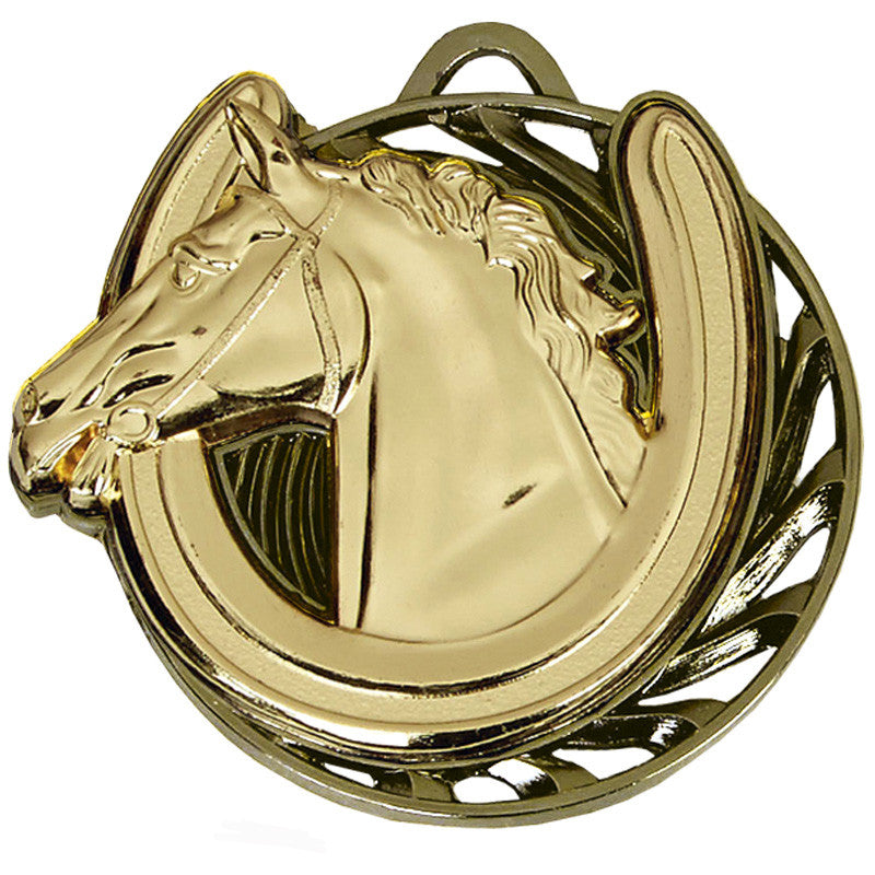 AM975 Horse Riding Medal - Bracknell Engraving & Trophy Services