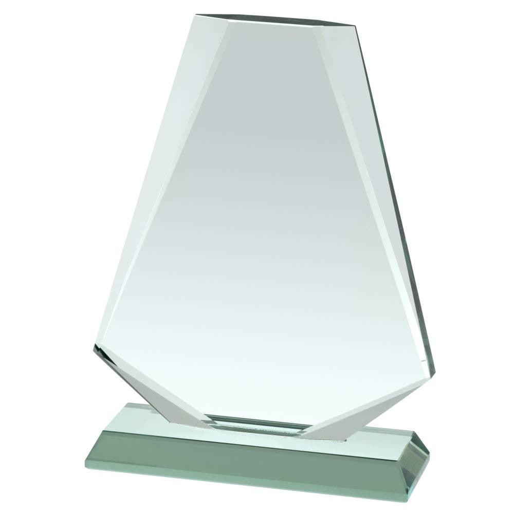 HC036 Jade Glass Award - Bracknell Engraving & Trophy Services