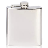 6oz Steel Hip Flask - Bracknell Engraving & Trophy Services