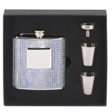 Diamond Hip Flask in Presentation Box - Bracknell Engraving & Trophy Services