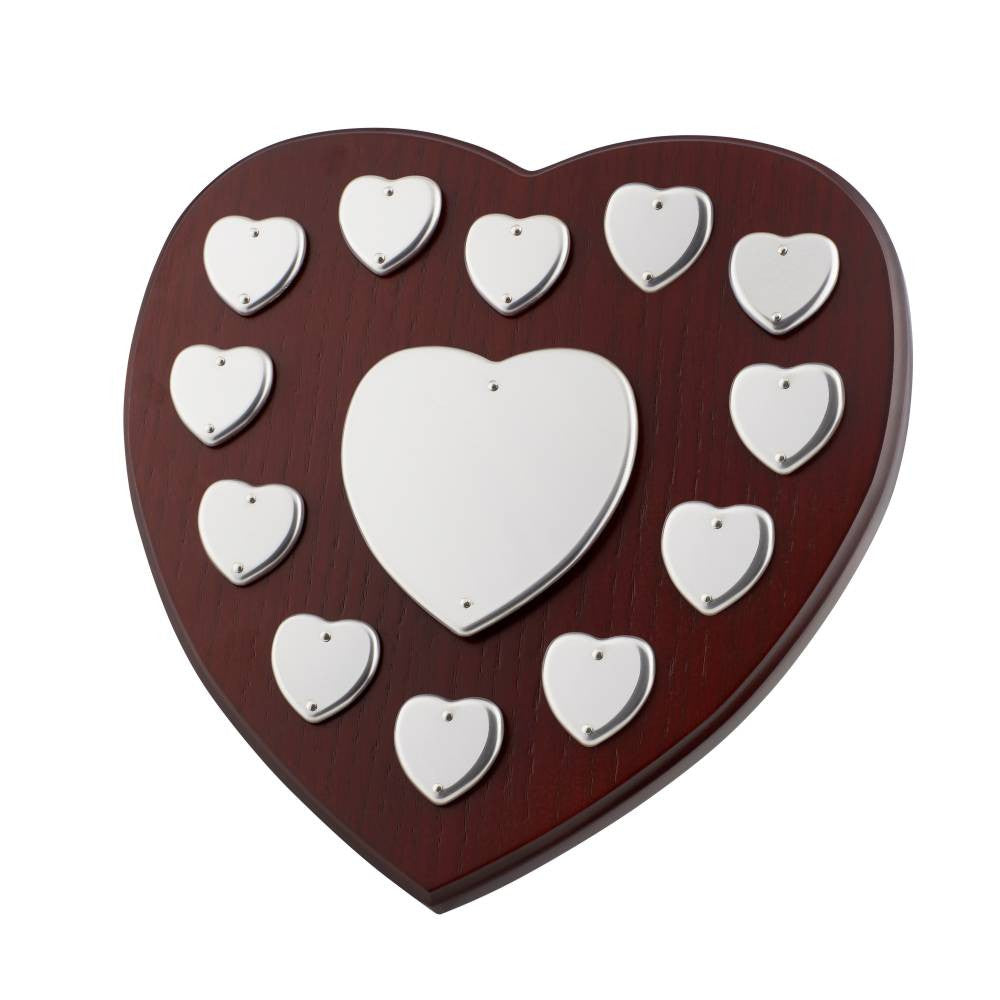 Perpetual Heart Shape Shield