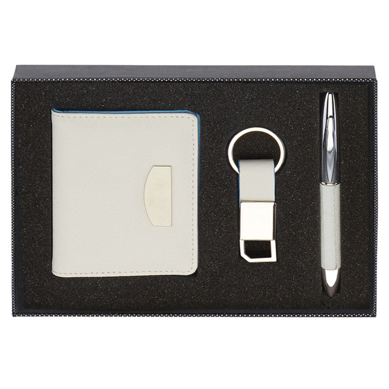 KF042 Wallet, Pen and Key Ring