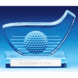 Versatile Golf Club Glass - Bracknell Engraving & Trophy Services