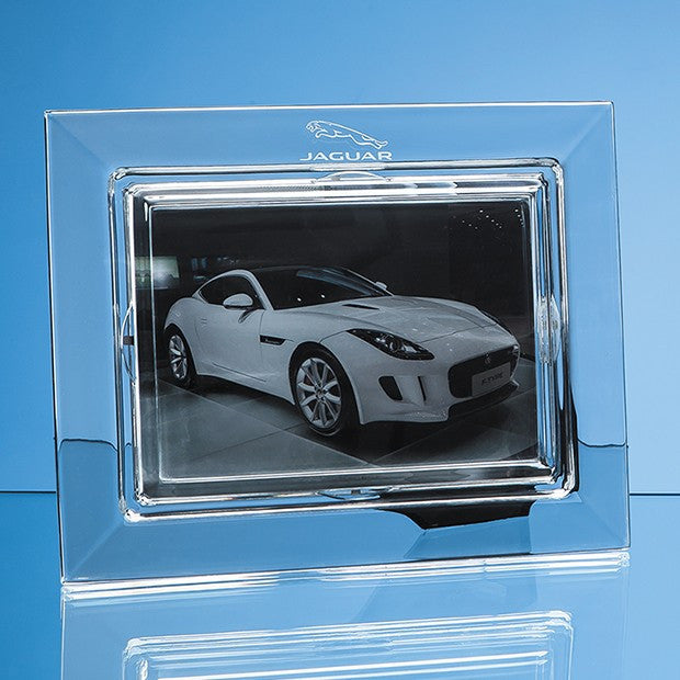 Lead Crystal Plain Photo Frame