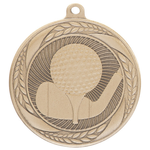 Typhoon Golf Medal