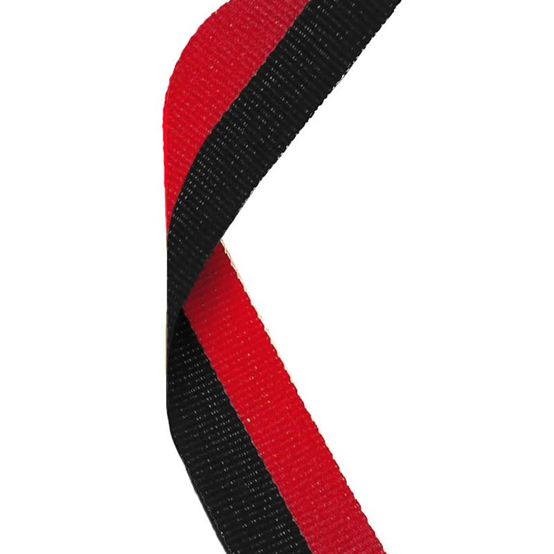 Black & Red Medal Ribbon
