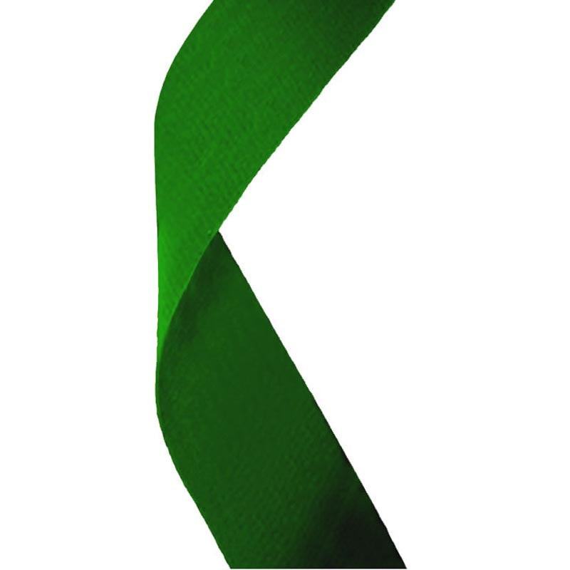Green Medal Ribbon - Bracknell Engraving & Trophy Services
