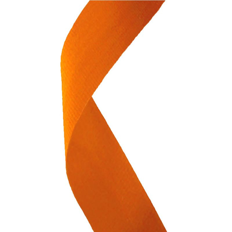 Orange Medal Ribbon - Bracknell Engraving & Trophy Services