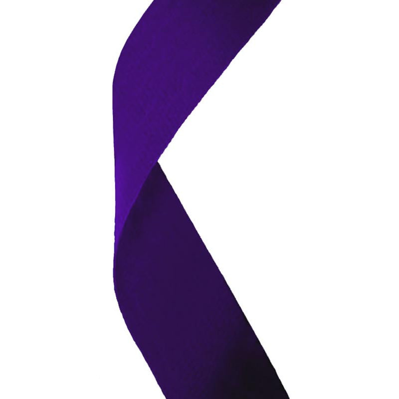 Purple Medal Ribbon - Bracknell Engraving & Trophy Services