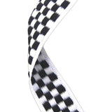 Chequered Flag Medal Ribbon - Bracknell Engraving & Trophy Services