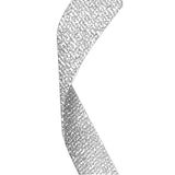 Silver Glitter Medal Ribbon - Bracknell Engraving & Trophy Services