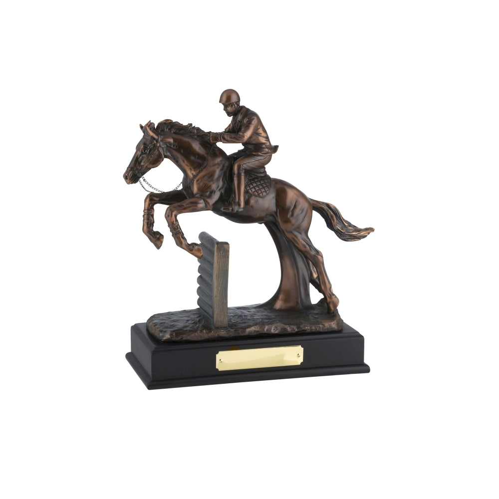 RW18 Bronze Plated Horse & Jockey Award