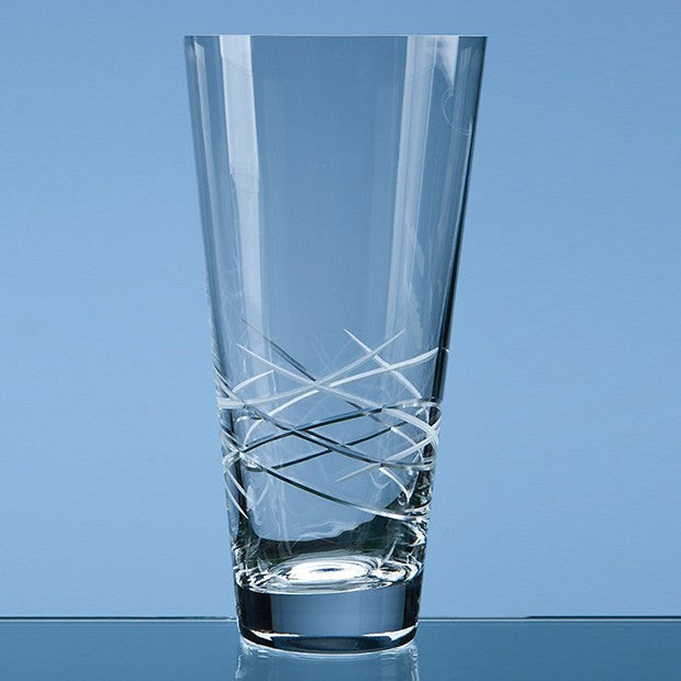 Tiesto Cut Conical Vase - Bracknell Engraving & Trophy Services