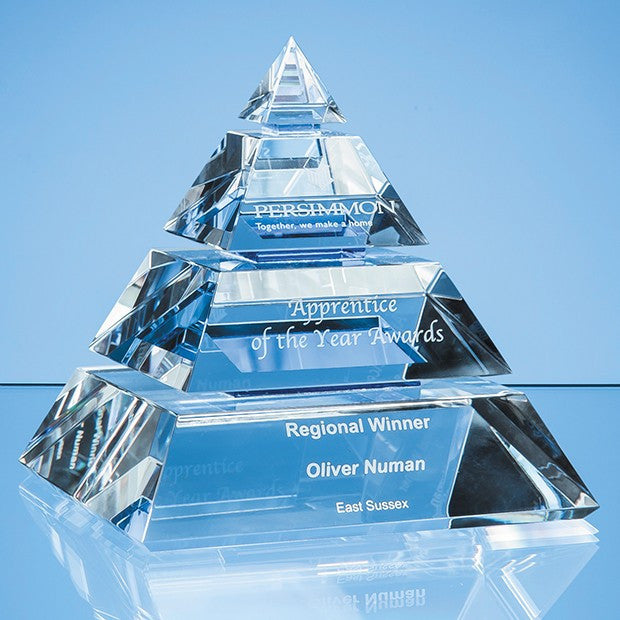 Luxor Pyramid Award - Bracknell Engraving & Trophy Services