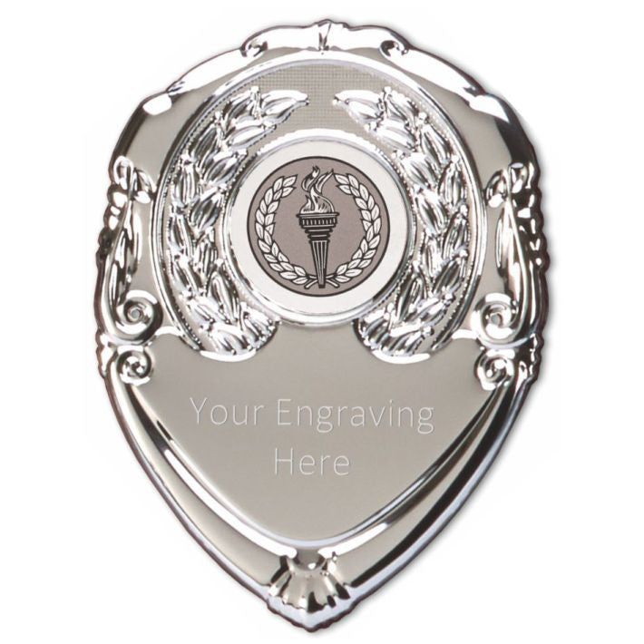Centre Shield Engraving Service - Bracknell Engraving & Trophy Services