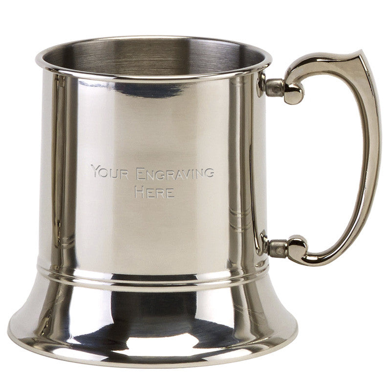 Polished Finish Tankard - Bracknell Engraving & Trophy Services