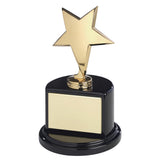 Bright Star Award on Black Base - Bracknell Engraving & Trophy Services