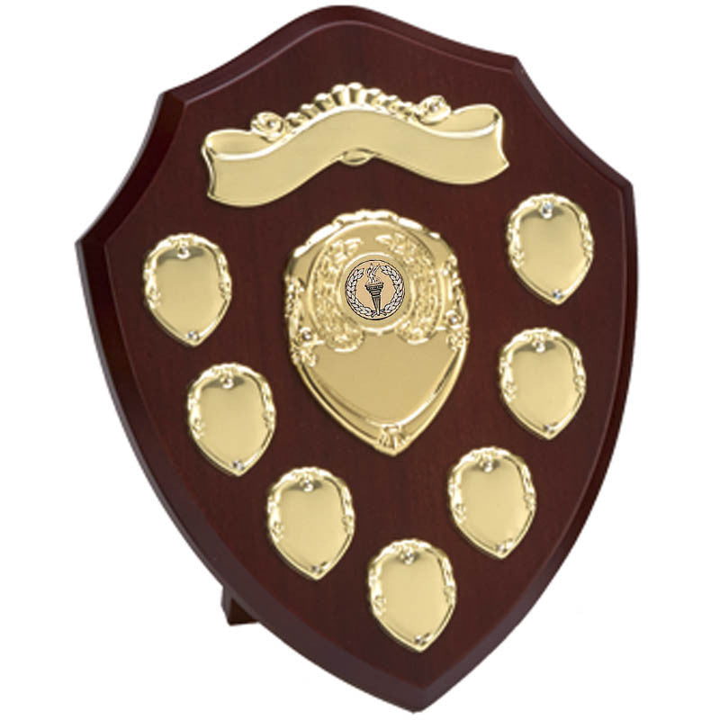 W28G Gold Annual Record Shield