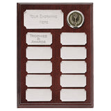 Silver Economy Record Plaque - Bracknell Engraving & Trophy Services