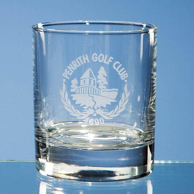 Bar Line Old Fashioned Whisky Tumbler - Bracknell Engraving & Trophy Services