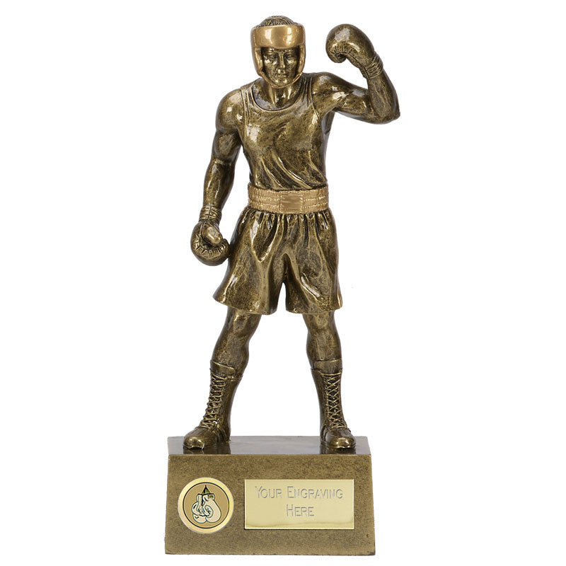 Knockout Boxing Trophy - Bracknell Engraving & Trophy Services