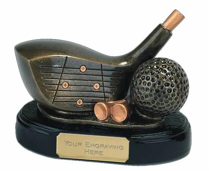 Triumph Driver Golf Trophy - Bracknell Engraving & Trophy Services