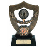 Celebration Longest Drive Golf Trophy - Bracknell Engraving & Trophy Services