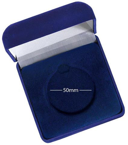 AM033 Velvet Medal Box - Bracknell Engraving & Trophy Services