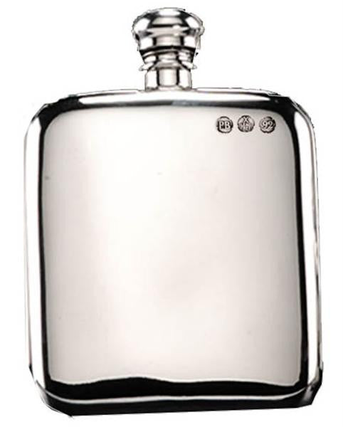 Campbell Classic Pewter Hip Flask