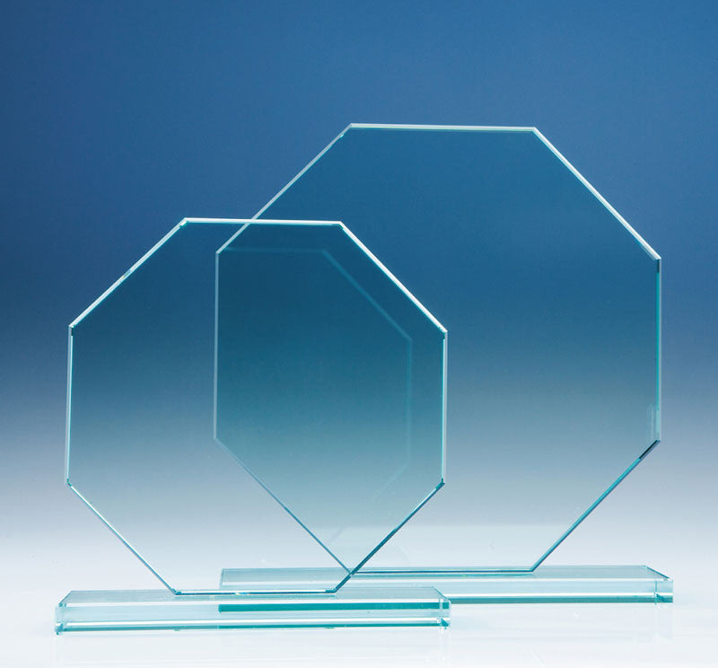 Jade Octagon Award - Bracknell Engraving & Trophy Services