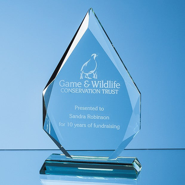 Jade Glass Diamond Peak Award