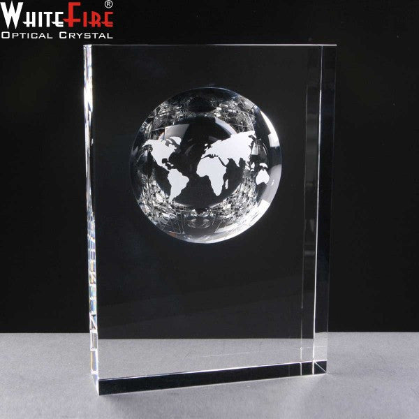 "WhiteFire 6"" Fantasy Globe - Bracknell Engraving & Trophy Services"