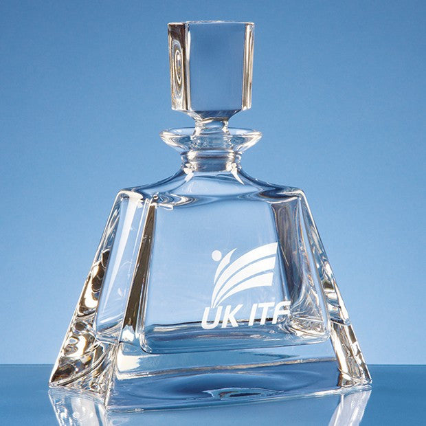 Lead Crystal Midi Boston Decanter - Bracknell Engraving & Trophy Services