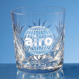 Blenheim Lead Crystal Panel Whisky Tumbler - Bracknell Engraving & Trophy Services