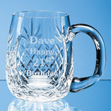 Lead Crystal Barrel Panel Tankard - Bracknell Engraving & Trophy Services