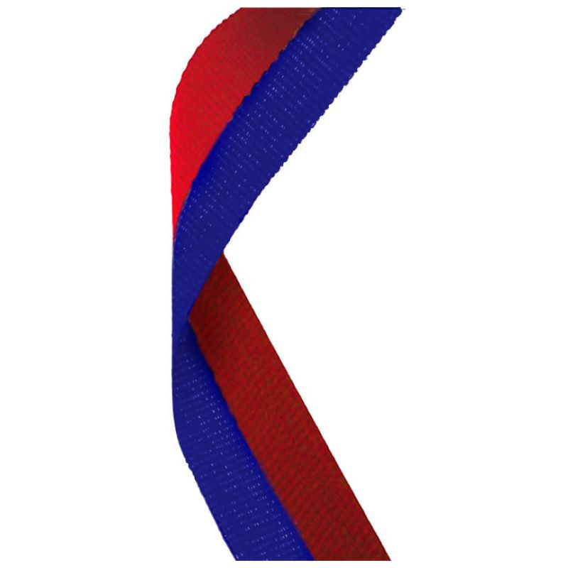 Blue & Red Medal Ribbon